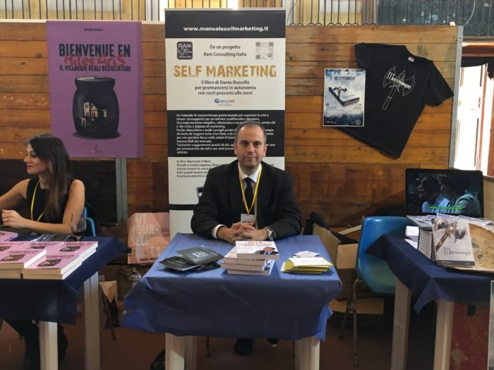 Self Marketing alla Fiera del Libro di Napoli 2017